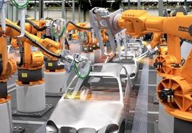 Роботы для автомобилестроения