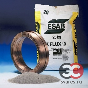 Сварочный флюс ESAB OK Flux 10.07