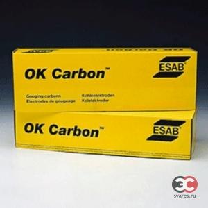 Графитовый электрод для резки и строжки ESAB OK Carbon
