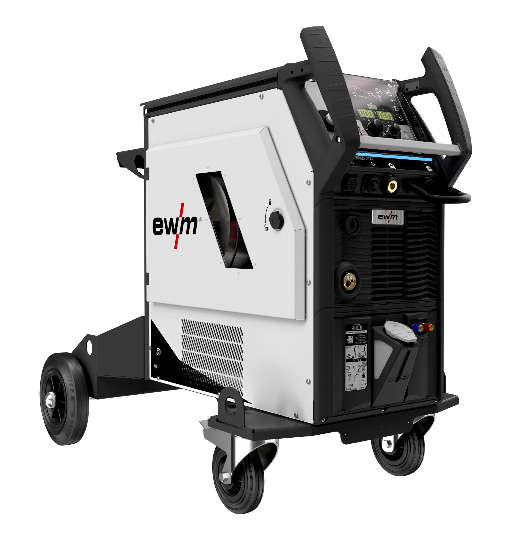 Профессиональный сварочный инвертор Titan XQ 350 puls CW HP