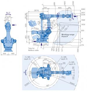 Робот манипулятор MOTOMAN GP400