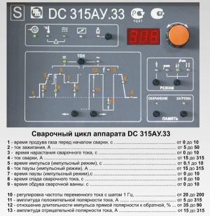 Промышленный сварочный аппарат ДС 315 АУ.33