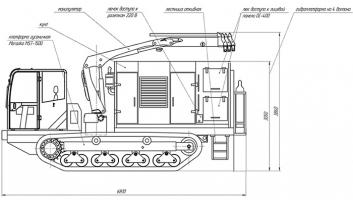 Агрегат самоходный сварочный МКСТ-34