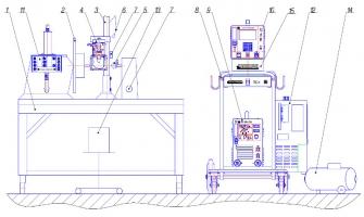 Установка автоматической сварки форсунок ТТ-542