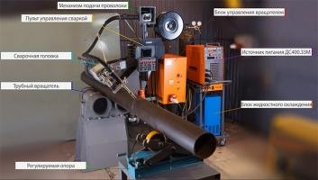 Установка автоматической сварки трубных узлов ТТ-582